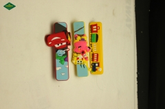 Cartoon style rubber cabinet handle, drawer handle.
